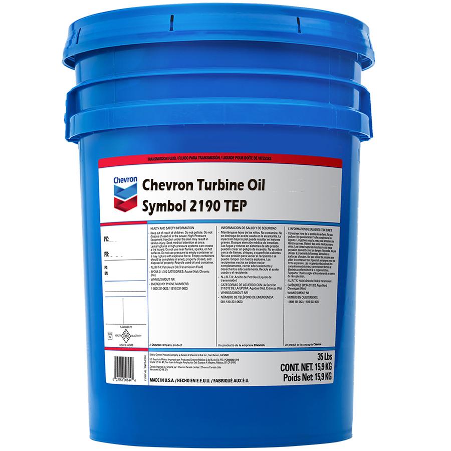 Chevron Turbine Oil Symbol 2190 Tep Scl