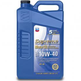 Chevron Supreme 10W-40 5 Quart