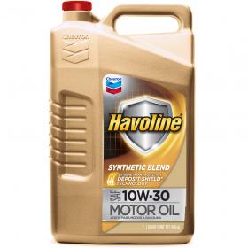 Havoline Synthetic Blend 10W-30 5 Quart