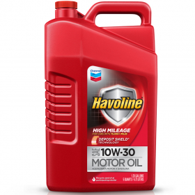 Havoline High Mileage Motor Oil Sae 10w 30 Scl