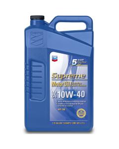 Supreme Motor Oil SAE 10W-40