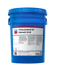 Chevron Clarity Synthetic EA Hydraulic Oil 68