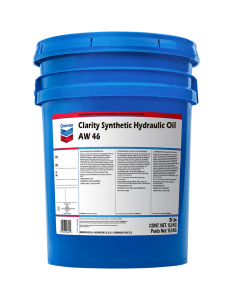 Chevron Clarity Synthetic Hydraulic Oil AW 68