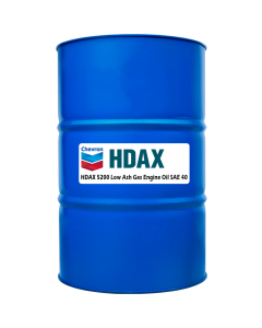 HDAX 5200 Low Ash Gas Engine Oil Sae 40