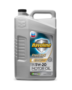 Havoline ProDS Full Synthetic Motor Oil SAE 5W-20