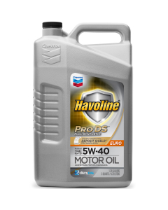 Havoline ProDS Full Synthetic Motor Oil SAE Euro 5W-40