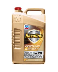 Havoline Synthetic Blend Motor Oil 0W-20