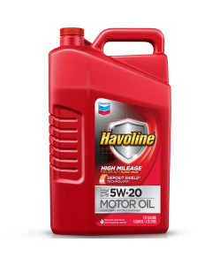 Havoline High Mileage Motor Oil SAE 5W-20