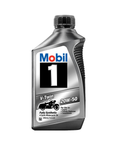 Mobil 1 V-Twin Motorcycle Oil 20w50