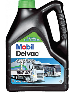 Mobil Delvac CNG/LNG 15W-40