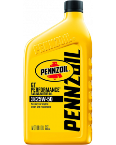 Pennzoil GT Performance Racing 25W-50