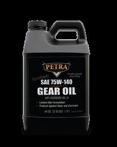 Petra SAE 75W-140 Synthetic Gear Oil 64oz