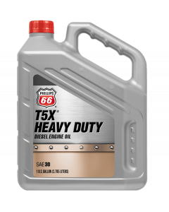 Phillips 66 T5X Heavy Duty Diesel Engine Oil 30