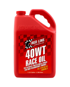 Red Line Synthetic 40WT Race Oil