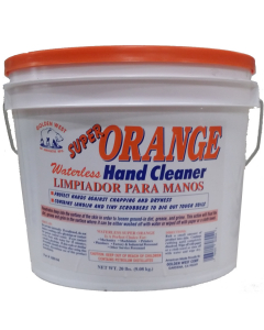 Orange Waterless Hand Cleaner