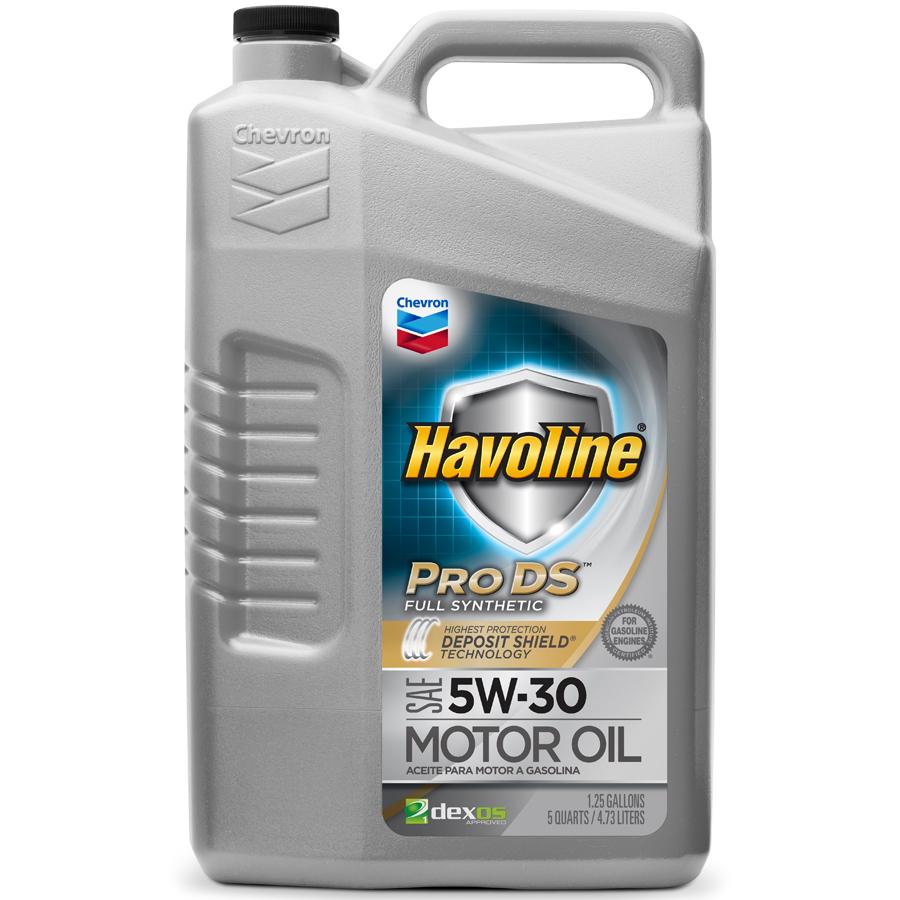 What Is Dexos Oil >> Havoline Prods Full Synthetic Motor Oil Sae 5w 30