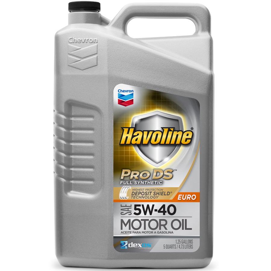 havoline prods full synthetic motor oil sae euro 5w 40 scl. Black Bedroom Furniture Sets. Home Design Ideas