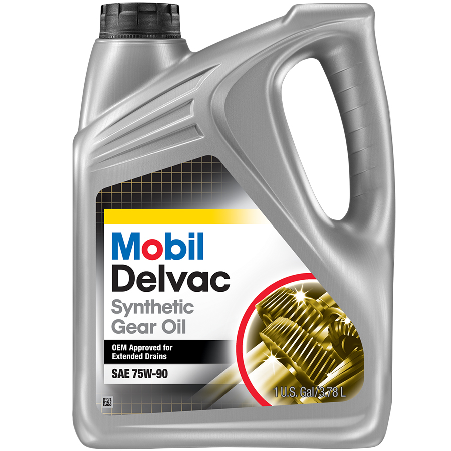 Exxon Mobil Delvac Synthetic Gear Oil 75w 90 Scl