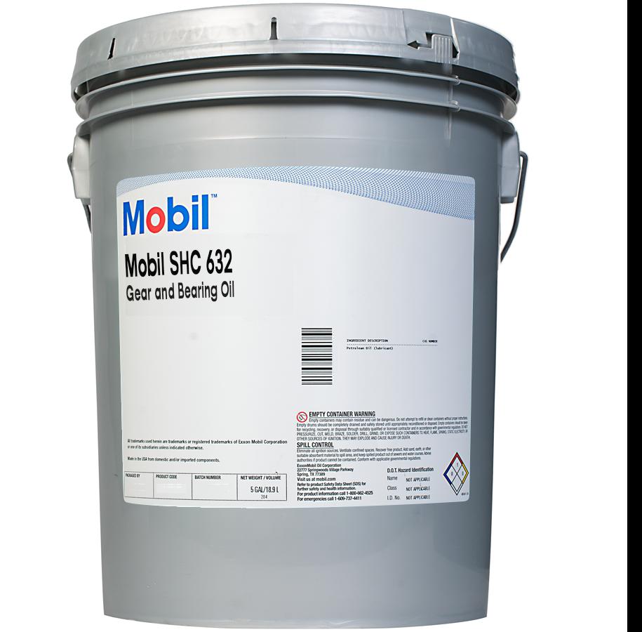 Exxon Mobil Shc 632 Scl