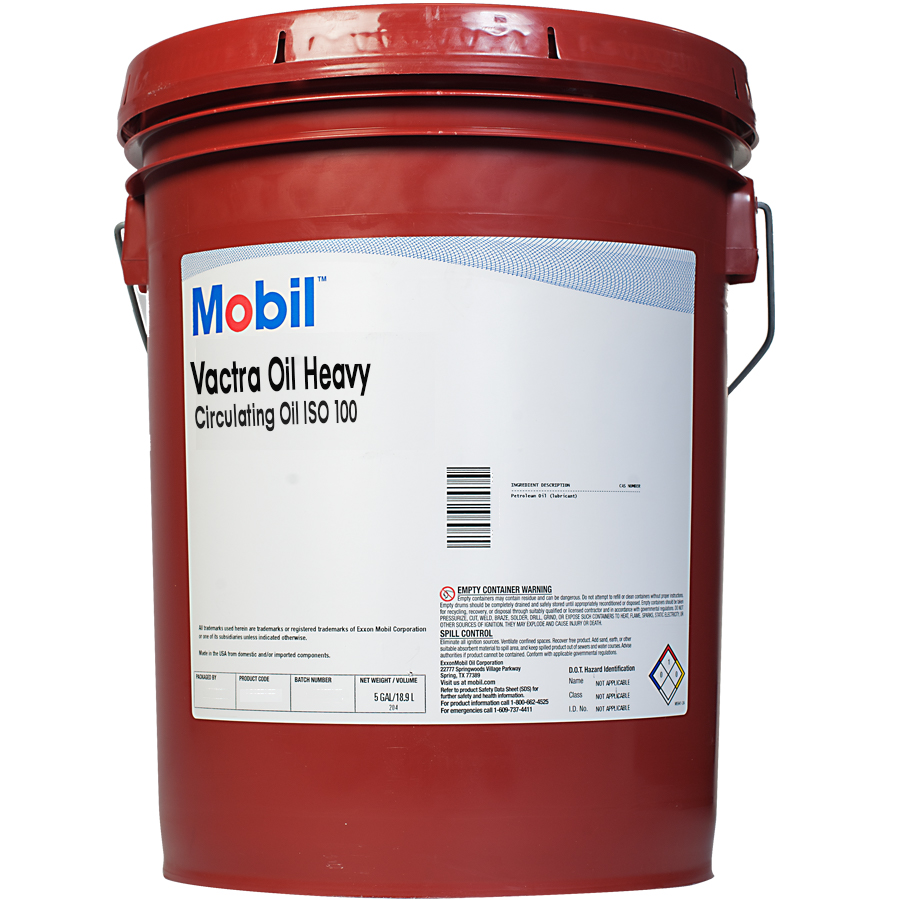 Exxon Mobil Vactra Oil Extra Heavy Scl