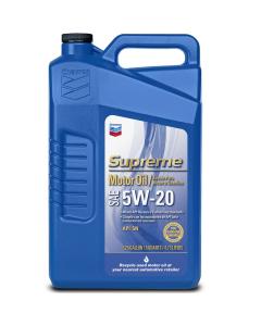 Supreme Motor Oil SAE 5W-20