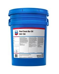 Chevron Red Chain Bar Oil 150