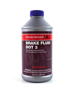 Honda Genuine Dot 3 Brake Fluid