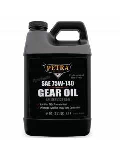 Petra SAE 75W-140 Synthetic Gear Oil 64oz