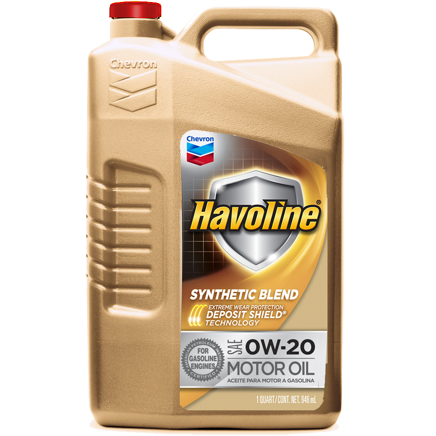 Havoline Synthetic Blend 0W-20 Motor Oil